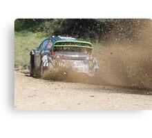 Ken Block, WRC Rally, Coffs Harbour, NSW, Australia 2011 Canvas Print