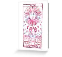 Tarot Le Soleil Greeting Card