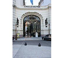Circulo Militar, Buenos Aires Photographic Print