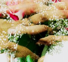 Ring of Flowers Sticker