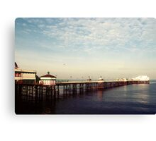 Ocean - Blackpool North Pier Canvas Print