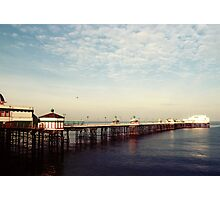 Ocean - Blackpool North Pier Photographic Print