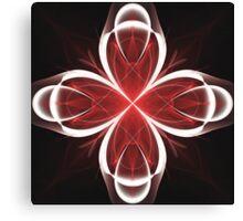Calla Abstract Fractal Design V2 Canvas Print