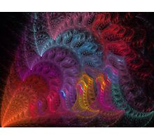 Calliope Abstract Fractal Art Photographic Print