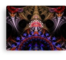 Coronation Abstract Fractal Canvas Print