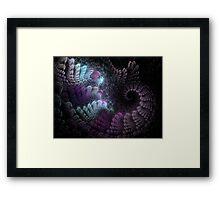 Cradle Abstract Fractal Artwork Framed Print