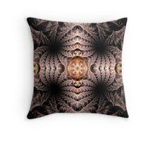 Curiosity Abstract Fractal Art Throw Pillow