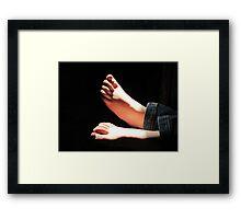 Little Feet Framed Print