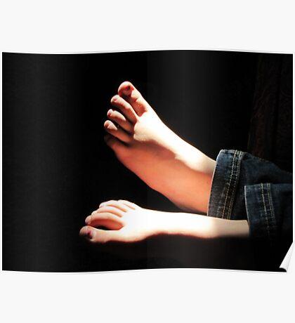 Little Feet Poster