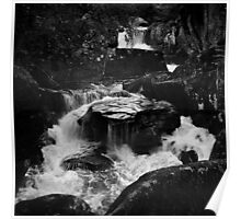 Moving water, Glen Orchy Poster