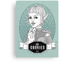 Sera's Us Cookies Canvas Print