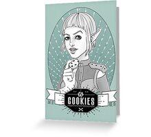 Sera's Us Cookies Greeting Card