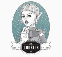 Sera's Us Cookies Baby Tee