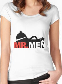 Mad Mr. Men Women's Fitted Scoop T-Shirt