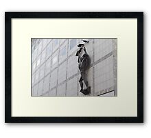 Adelaide Architecture Sculpture Framed Print