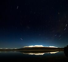Central Plateau at Night by Michael Treloar