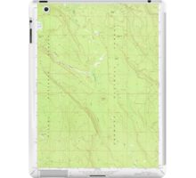 USGS Topo Map Oregon Location Butte 280558 1968 24000 iPad Case/Skin