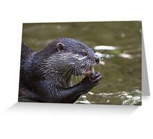 Mustelid Greeting Card
