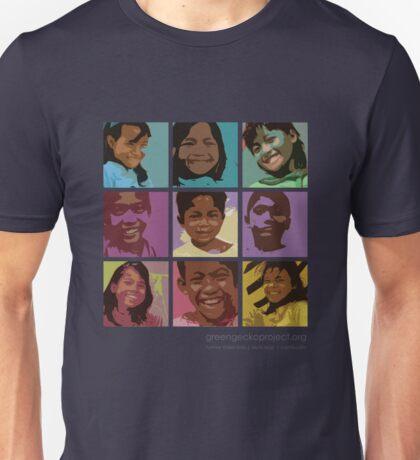 Pop art Geckos Unisex T-Shirt
