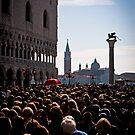 Crowded Piazzetta di San Marco by mosinski