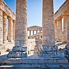 Doric temple in Segesta by mosinski