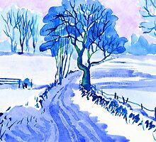 Country Lane, Bonsall, Derbyshire by WaterGardens