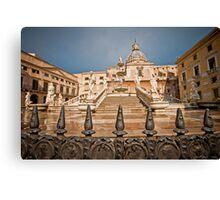 Palermo fountain of shame 2 Canvas Print