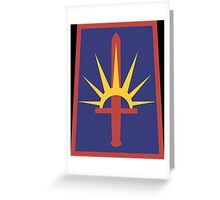 New York Army National Guard Greeting Card