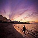 Sunset in Trapani bay by mosinski