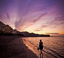 Sunset in Trapani bay by mosinski