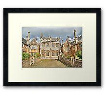 Vicars Close Wells Framed Print