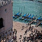 View of Doge's Palace from the Campanile tower by mosinski