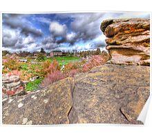 Brimham Rocks - HDR Poster