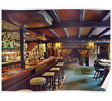 The Talbot Inn ~ Berwick St. John Poster