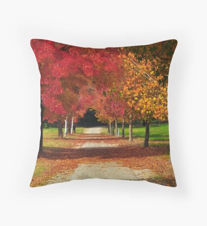 Colours of Fall Throw Pillow