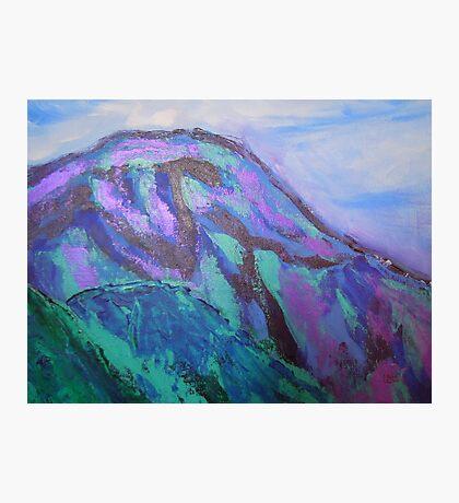 landscape-blue mountains Photographic Print