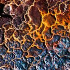 Volcanic Eruption in Abstract by Scott  Cook