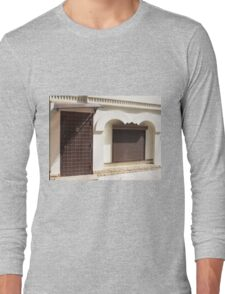 The facade of a small house Long Sleeve T-Shirt