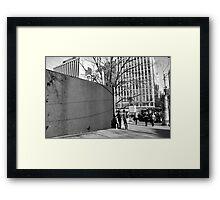 Wonder Wall 2 Framed Print