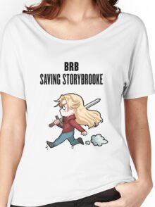 BRB - saving storybrooke Women's Relaxed Fit T-Shirt