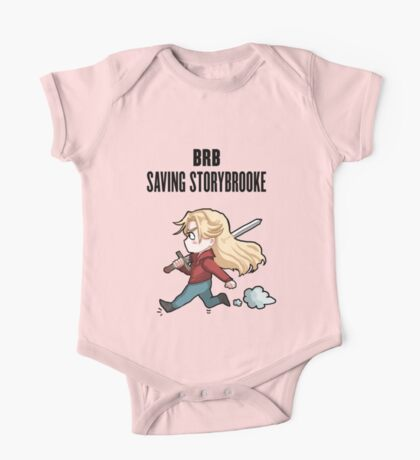 BRB - saving storybrooke One Piece - Short Sleeve