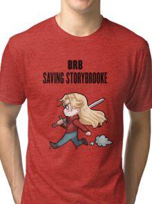 BRB - saving storybrooke Tri-blend T-Shirt
