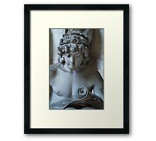 Curly Head Framed Print