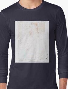 USGS Topo Map Oregon Andrews 278846 1971 24000 Long Sleeve T-Shirt
