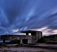 Gun Bunker - Pt Lonsdale Victoria by Graeme Buckland