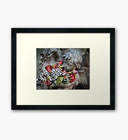 A little dash of colour Framed Print