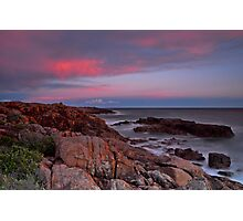 Sunset on Boat Harbour Photographic Print