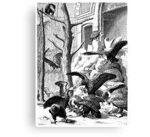 Heinrich Leutemann Die Gartenlaube 1864 b 165 Canvas Print