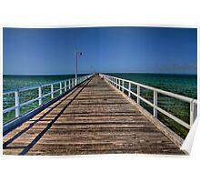 Hervey Bay Urangan Pier Poster
