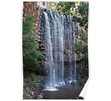 Rushing Falls at Trentham Poster